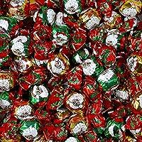 Cioccolatini Sospiri di Babbo Natale La Suissa Kg 1 - Boules di Cioccolato al Latte Ripieni di Crema Nocciola e Cereale - Senza Glutine