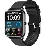 "Smartwatch, Pantalla Táctil de 1.4"", Relojes Inteligentes Impermeable IP67 para Mujer Hombre niños, Reloj de Fitness con Moni"