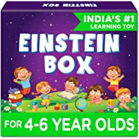 Einstein Box for 4, 5 and 6 Year Old Kids Toys for Baby Boys and Girls, Learning and Educational Gift Pack of Toys…