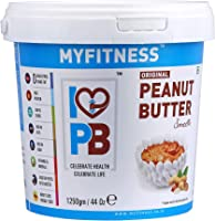 MYFITNESS Peanut Butter Smooth 1250g