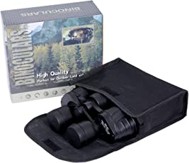Kurtzy Binocular Telescope High Range Distance and Multi Coated Powered Prism Lens, Includes Wider View 18x5x14cm