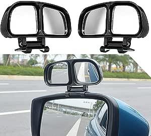 Toter Winkel Spiegel 2 Pack Auto Blind Spot Spiegel Auto Außenspiegel Zubehör Zusatzspiegel Mit Individuellen Einstellmöglichkeiten Für Ein Optimales Blickfeld Links Rechts Auto