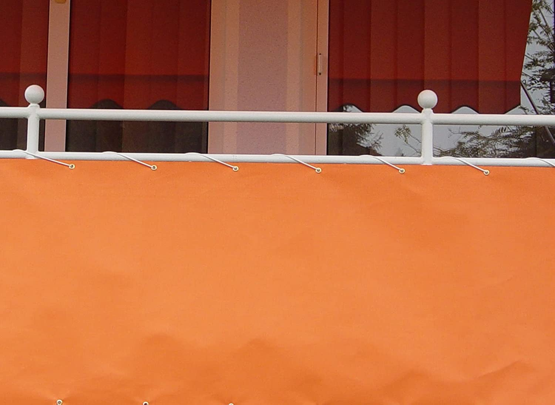 Amazon Angerer Balkonbespannung Dralon Nr 2800 75 cm hoch