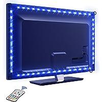 LED TV Retroilluminazione, OMERIL 2.2M Retroilluminazione LED TV con 16 Colori e 4 Modalità, Striscia LED RGB USB…