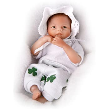 f4762c8c6 The Ashton-Drake Galleries  A Handful Of Cheerfulness  Miniature Newborn  Baby Doll –