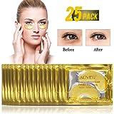 (25 Paia) Maschera Per Gli Occhi Collagene Gold 24k, Antinvecchiamento, Antirughe, Idratante Sotto Le Rughe Degli Occhi, Rimu