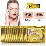 (25 Paia) Maschera Per Gli Occhi Collagene Gold 24k, Antinvecchiamento, Antirughe, Idratante Sotto Le Rughe Degli Occhi…