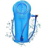 Unigear Trinkblase, 2L, 2,5L, 3L Hydration Blase staubdichte und antimikrobielle Hydration Bladder Wasserblase Trinkbeutel Wassertank mit Schlauch ALS Trinksystem