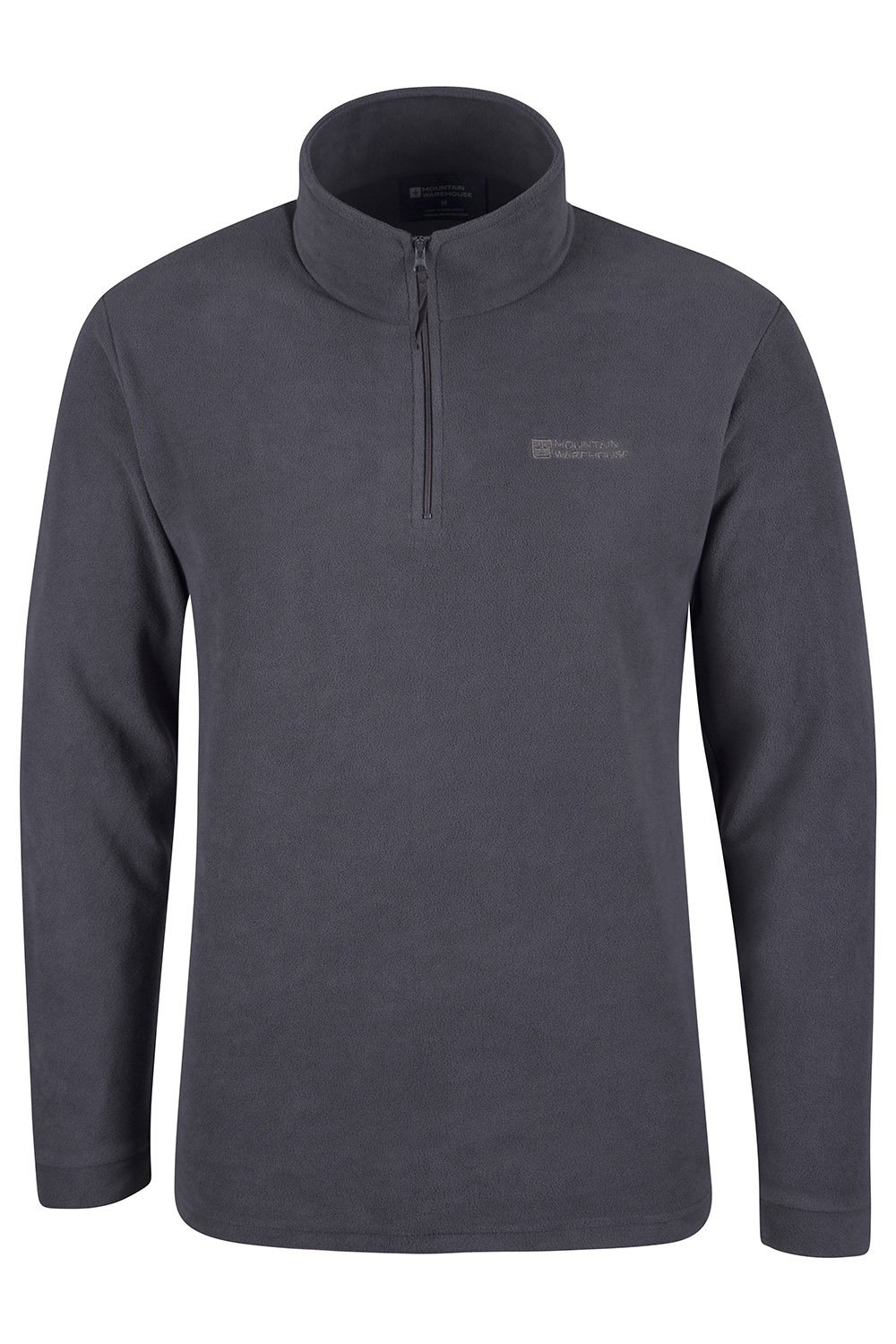 Mountain Warehouse Mens Camber Fleece Top - Lightweight Top, Breathable Sweater, Quick Drying Pullover, Extra Ventilation - Ideal for Winter Walking 1