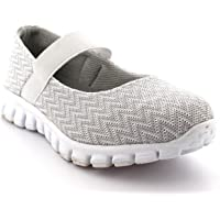 Womens Running Walking Low Top Sports Work Shoes Gym Mary Jane Trainers