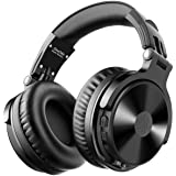 OneOdio Casque Bluetooth 80 Heures de Lecture Casque Hi-FI de Haut-Parleur de 50 mm avec Microphone Intégré CVC 8.0 Casque Au
