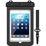 Yokata wasserdichte Tasche Universal Schutztasche Wasserfeste Taschen Transparent Schutzhülle für Tablet iPad, iPhone 6/6S/7/