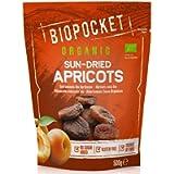 Biopocket Organic Dried Apricots, 2 x 500 g