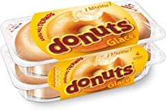 Donuts Rosquillas Glacé , 4 x 52g