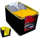 PerfectKrafts Kurtis Organizer for wardrobe/Closet Storage Box and Clothing Organiser for Women Girls multicolor(Pack of 1)