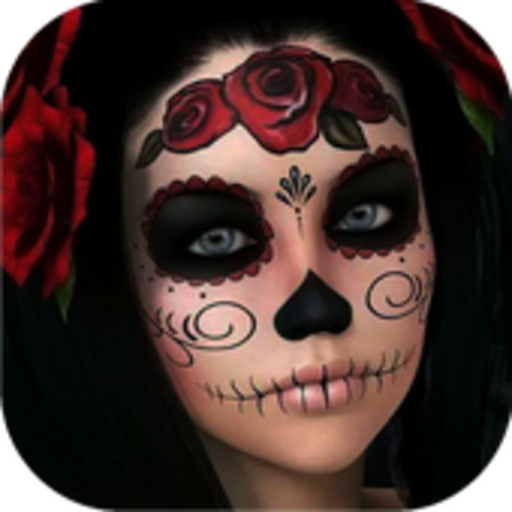 (Day of the Dead Skull Makeup)