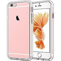 JETech Cover Compatibile iPhone 6/6s, Custodia con Paraurti Assorbimento degli Urti e Anti-Graffio, Trasparente HD…