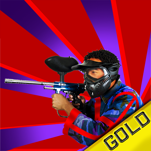 Paintball Street Fun War Fight : The Battle of the teams - Gold Edition (Paintball Guns Gold)