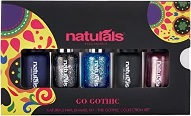 Natural's Nail Enamel Kit -Go Gothic Gc1
