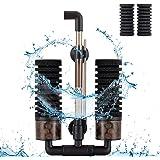 Hygger Filtros para Acuarios, Filtro Bioquímico Esponjas para Acuario con 4 Esponjas y 1 Bolsa de Bola de Cerámica Filtro Int