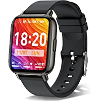 Smartwatch, 1.69 Zoll Touch-Farbdisplay Smart Watch, Sportuhr IP68 Wasserdicht für Damen und Herren, Fitnessuhr mit…