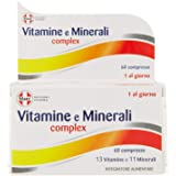 Matt Divisione Pharma Vitamine e Minerali Complex, Integratore Multivitaminico e Multiminerale - 60 Compresse, 79.8 g