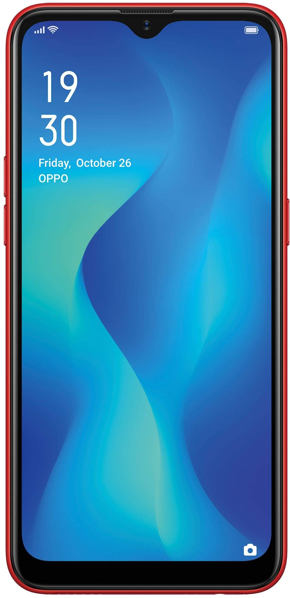 OPPO A1K (Red, 2GB RAM, 32GB Storage)