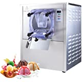 Machine à crème glacée dure commerciale, machine de fabrication de crème glacée de bureau commerciale en acier inoxydable, ma