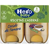 Hero Baby Recetas Caseras Cocido de Ternera Tarritos de Puré para Bebés a partir de 8 meses Pack de 3 u de 2 x 190 g