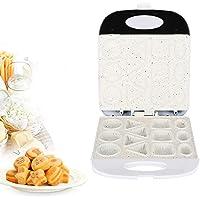 Machine à cupcakes, machine à gâteaux électrique, prise européenne à 13 trous 220-240 V antiadhésive pour gâteau maison