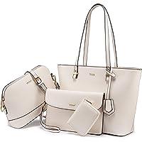 Sac à Main Femme ensemble grande capacité femmes Hobo sac à bandoulière bourse carte Paket pour les dames avec fermeture…