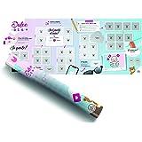 Benbridge Calendario Gravidanza Scratch Dolce Attesa | Made in Italy | Idea Regalo Gravidanza, Multicolore