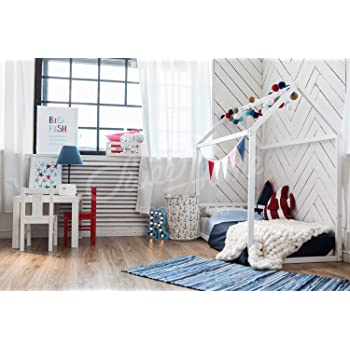 Sweet Home Aus Holz Kinderbett Hausbett Montessori Bett Amazon De