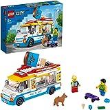 LEGO 60253 City Great Vehicles Ijswagen Speelgoed met schaatser en hondfiguur, voor kinderen van 5 jaar en ouder