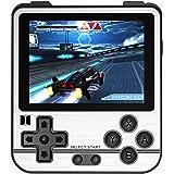 QoLeya Handhållen spelkonsol, multifunktionell retro spelkonsol klassisk retro spelspelare 2,8 tum IPS-skärm Musik och videos