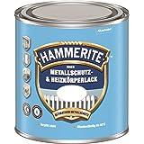 Hammerite 5117865 Binnen metalen Beschermings- En Radiatorlak, Zuiver Wit Ral 9010 Mat 0,5L