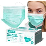 Maschere Facciali Monouso Medrull - Set da 50 pz - Certificazione CE - Maschere Chirurgiche 3 Strati - Anti Inquinamento - Ma
