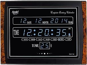 AJANTA DIGITAL CLOCK OLC-104 (Blue LED)
