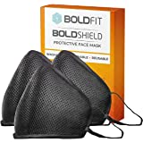 Boldfit Mask for Face Reusable Washable Men and Women (Pack of 3)