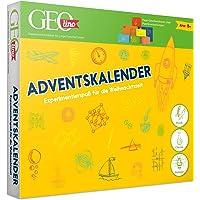 FRANZIS 67070 - GEOlino Adventskalender, 24 spannende Experimente zum Forschen und Entdecken, aus Physik, Chemie und…