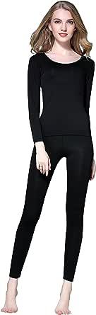 Vinconie Set Intimo Termico Donna Maglia Termica Pantaloni Termici Morbido Invernali