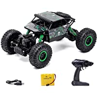 Zest 4 toyz 2.4Ghz 1/18 RC Rock Crawler Vehicle Buggy Car 4 WD Shaft Drive High Speed Remote Control Monster Off Road…