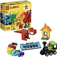 LEGO Classic Bricks and Ideas Building Blocks for Kids (123 Pcs)11001