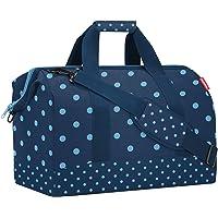 reisenthel Allrounder L Mixed dots Blue MT4080 Reisetasche Sporttasche Dunkelblau hellblaue Tupfen