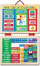 Melissa & Doug My Magnetic Daily Calendar (Multi Color)
