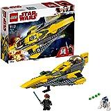 LEGO Star Wars - Anakin's Jedi Starfighter - 75214 - Jeu de Construction