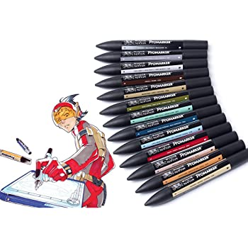 Winsor Newton Promarker Set Of 24 Art Illustration Wallet