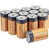 Amazon Basics - Batterie alcaline Mono D, 1.5 volt, per uso quotidiano, confezione da 12 (l'aspetto potrebbe variare dall'imm