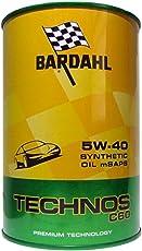 Olio motore auto Bardahl Technos C60 5W40-1 Litro