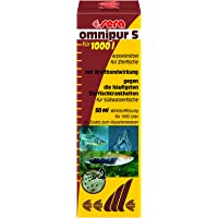 sera (02170) omnipur S - Arzneimittel mit Breitbandwirkung gegen die häufigsten Zierfischkrankheiten im Süßwasser…